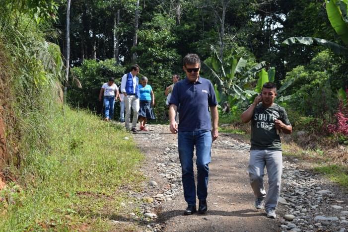 Visita del Representante de Acnur a Putumayo