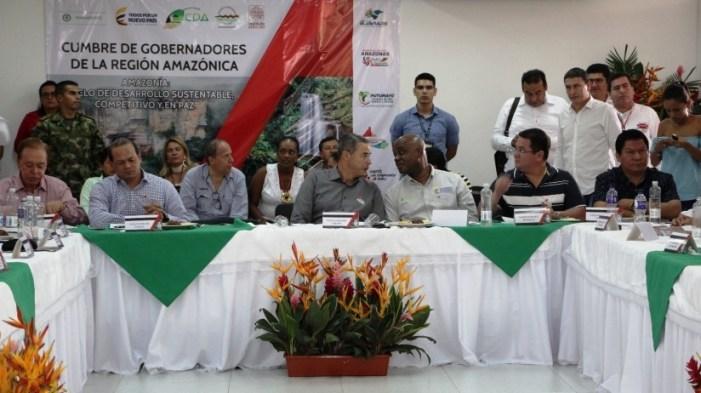 """""""Hay que proteger la amazonia colombiana"""", gobernadores de la región Amazónica"""