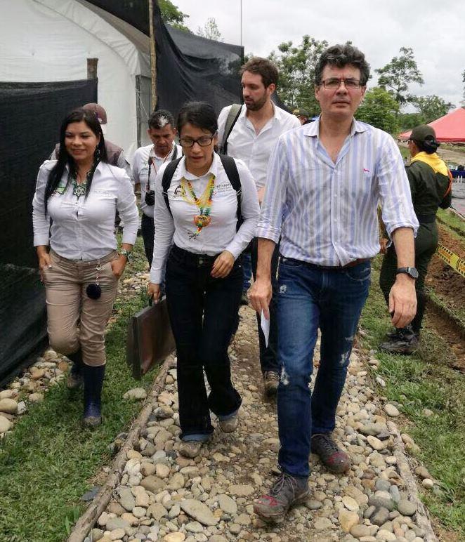 Ministerio de salud, exalta labor de la gobernación del Putumayo