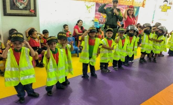 En Putumayo se aprenden normas de tránsito desde la primera infancia