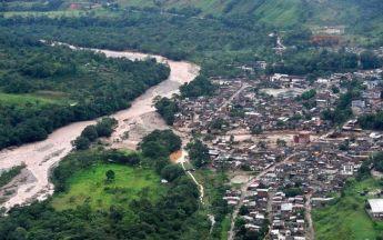 Rio Sangoyaco, Desembocadora Rio Mocoa, B. Independencia