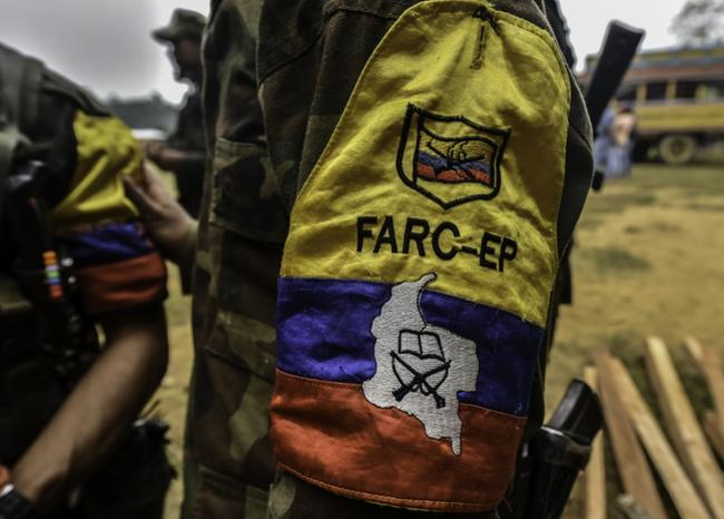 BLU Radio. Farc / Foto: AFP