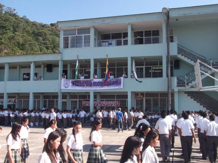 Colegio Fidel de Monclar, no está bajo amenaza de riesgo