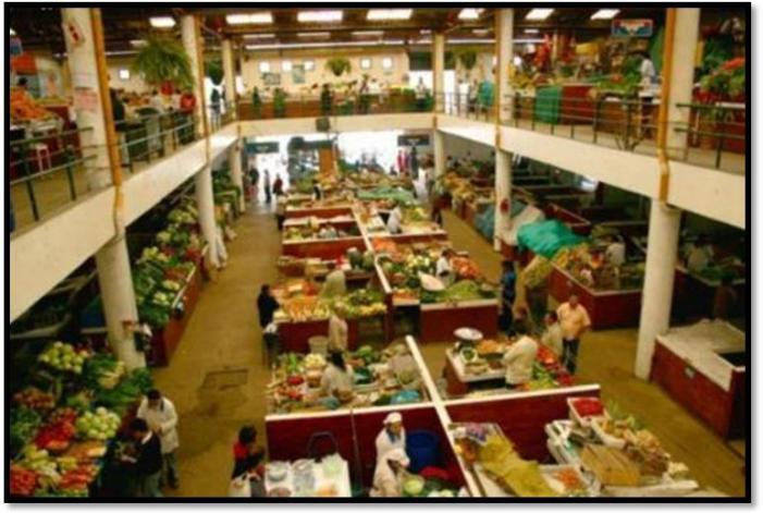 Como nos podríamos soñar a la plaza de mercado de Mocoa