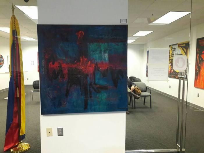 Exposición en el consulado de Colombia en Atlanta.