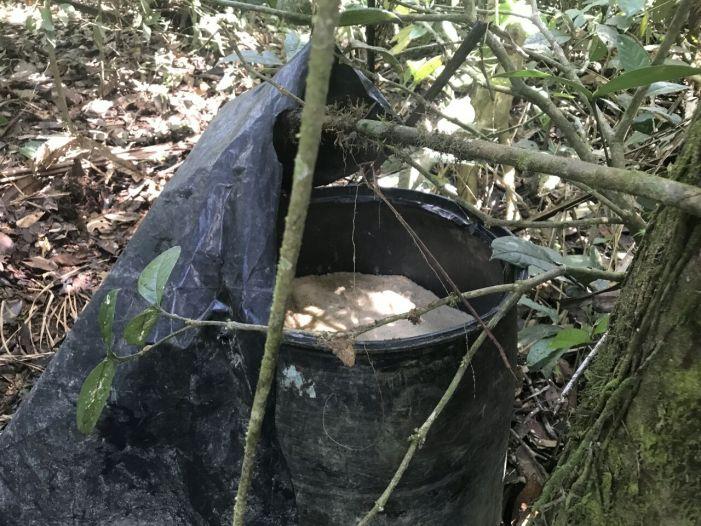 Ubicados y destruidos 450 kg de explosivos en el Putumayo