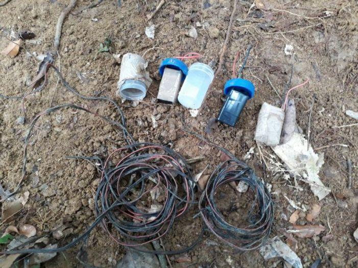 Ubicado depósito ilegal con material explosivo en San Miguel