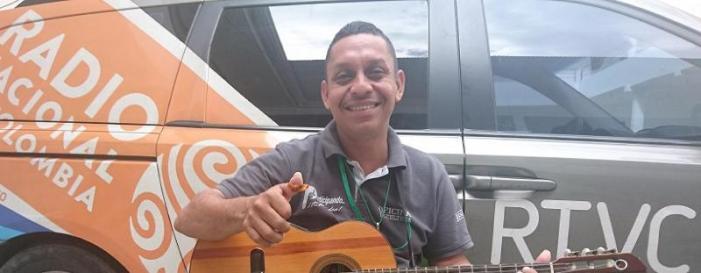 Jorge García, del Putumayo para Colombia y el mundo