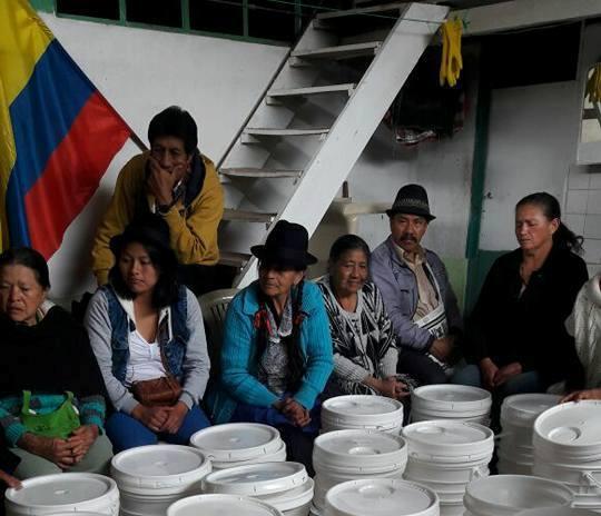 Agua pura para el pueblo Quillacinga en Sibundoy