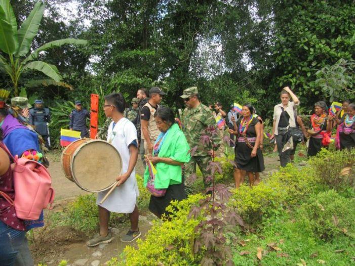 Batallón de Desminado acompaña jornada de salud en Condagua