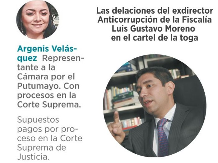 Gustavo Moreno agita su ventilador