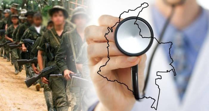 Zonas afectadas por el conflicto son también las más enfermas