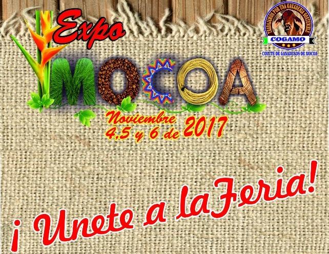 ¡Únete a la Feria! ExpoMocoa 2017 Noviembre 4 al 6