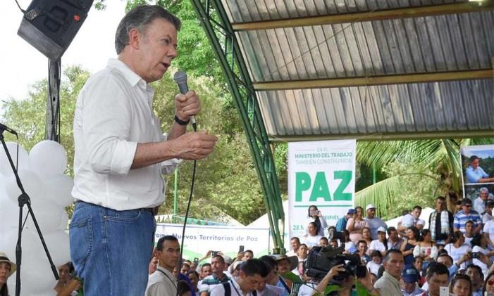 La paz sí está funcionando, afirmó el Presidente Santos en el Caquetá al cumplirse un año de la firma de los acuerdos