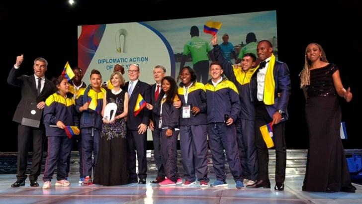 Cancillería colombiana gana el premio internacional de Deporte y Paz en la categoría Acción Diplomática del Año
