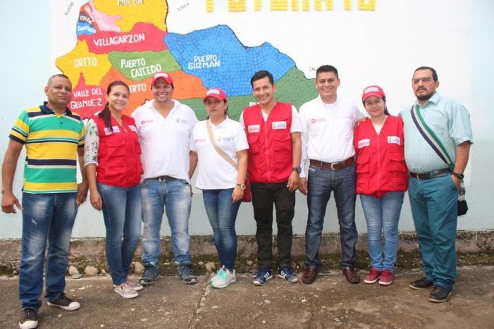 En Puerto Guzmán, concluyó con éxito la formulación de los programas de desarrollo con enfoque territorial – PDET