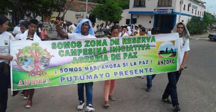 Zona de reserva campesina en Putumayo celebró 17 años de procesos organizativos