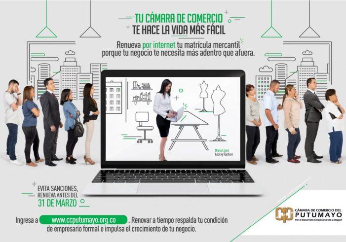 Empresarios, a renovar su Matrícula Mercantil