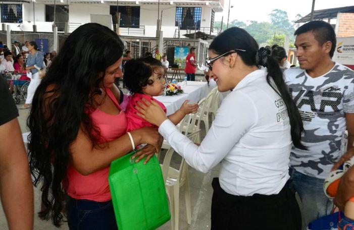 Víctimas del Valle del Guamuéz reciben cartas de indemnización