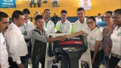 En Orito la Gobernadora entregó equipos a beneficiarios de APP