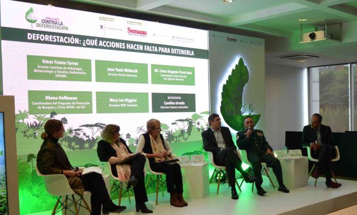 Ejército comprometido en la Gran Alianza contra la Deforestación