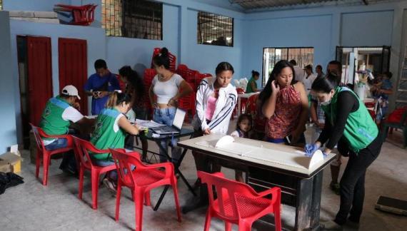 ICBF Regional Putumayo realiza jornada de atención en la plaza de mercado – Mocoa