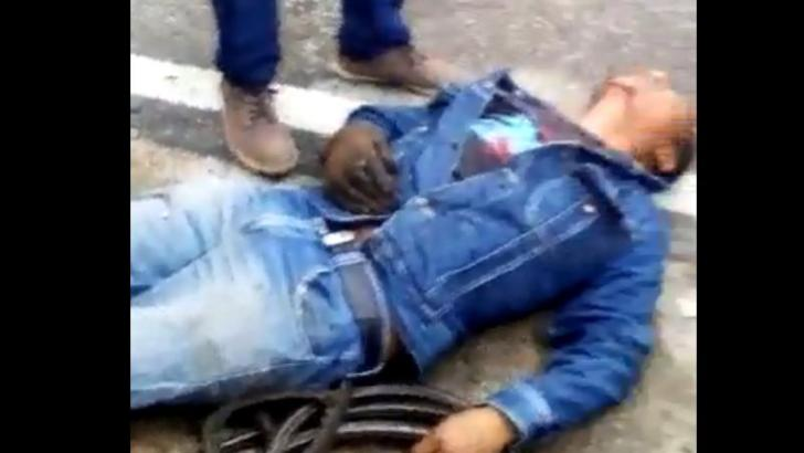 En emergencias, déje de usar su celular para tomar fotos / videos y ayude a los lesionados