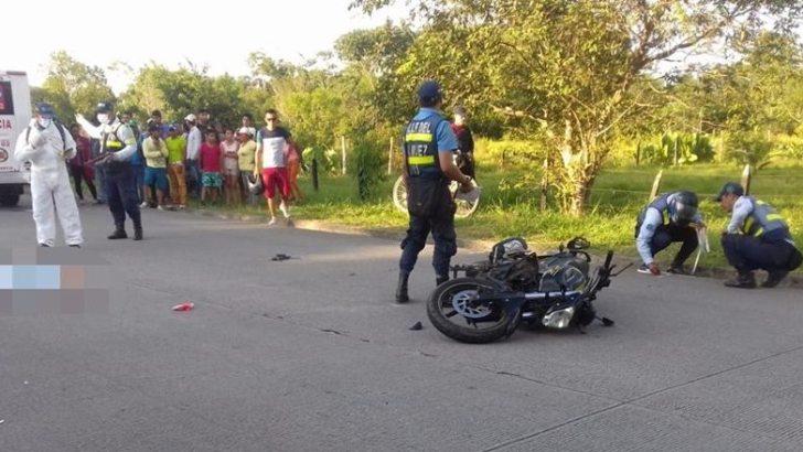 Muere mujer de 50 años arrollada por moto en el Valle del Guamuéz