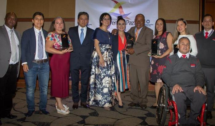 Estos son los ganadores del premio Emprender Paz