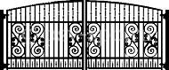 Эскиз ворот №1
