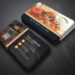Restaurant Business Card On Behance