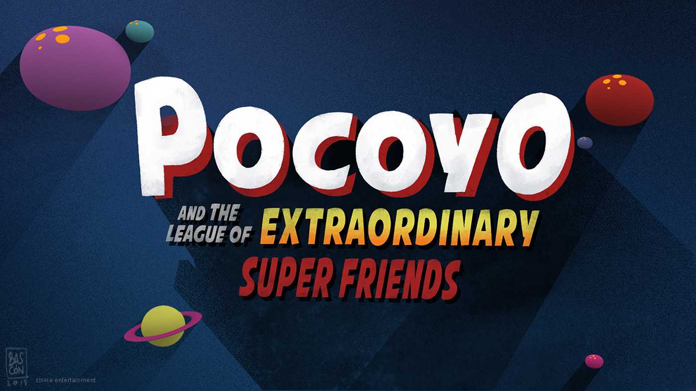 POCOYO AND THE LEAGUE OF EXTRAORDINARY FRIENDS on Behance  pocoyo  superheroes  animation  conceptart  tvseries  featureanimation   children  characterdesign  setdesign  backgrounds  propdesign  toydesign   movies