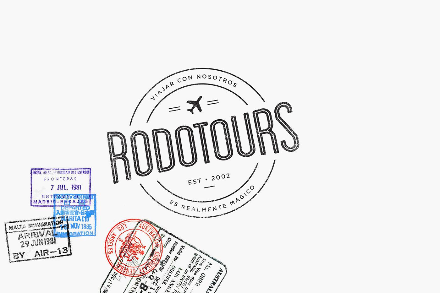 Rodotours Branding On Behance
