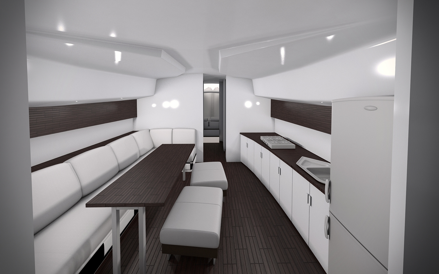 Small Boat Interior Ver 1.0 On Behance