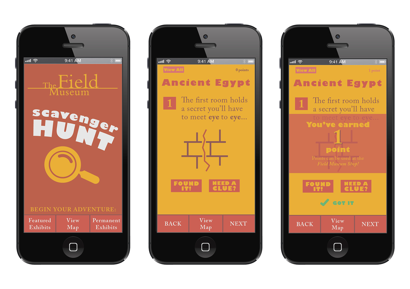 The Field Museum Scavenger Hunt App On Behance