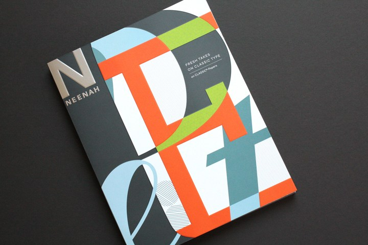 Nothing Makes A Designer Happier Than Paper And Type So When Neenah Asked Willoughby To Design Book Promote Its Signature Line It Took Us About