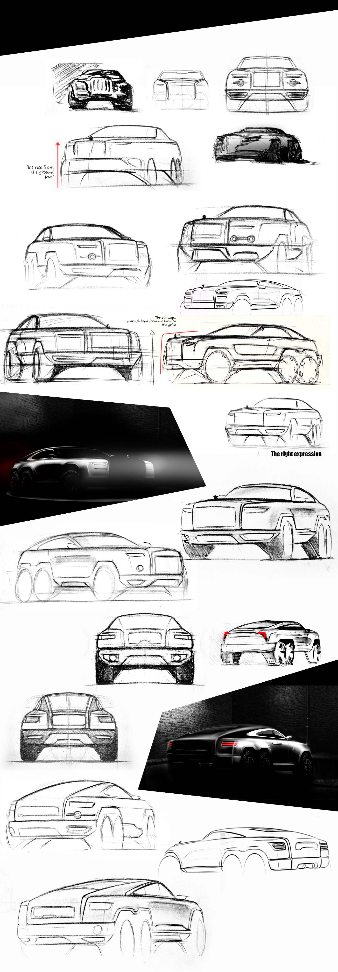 Rolls Royce Bespoke Vehicle Three Axel On Behance