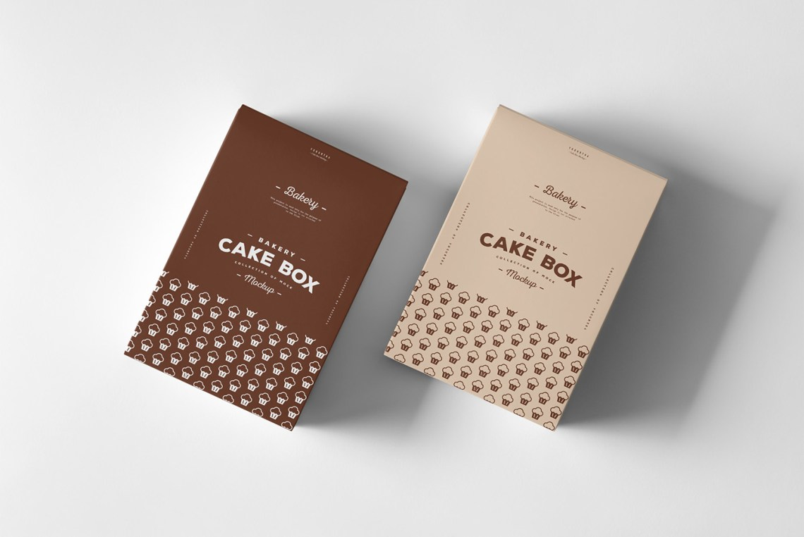 Download Cake Box Mock-up on Behance