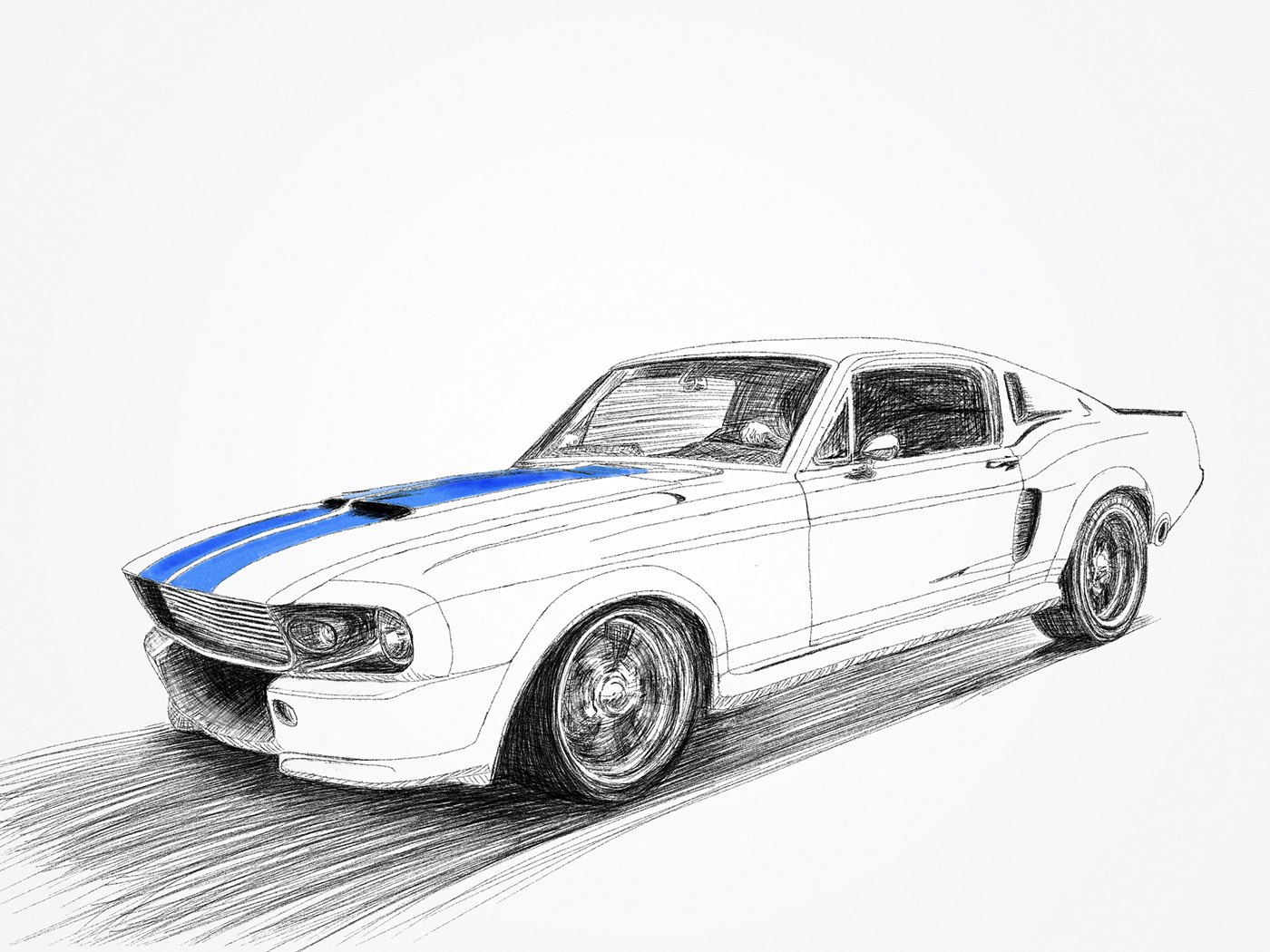 Mustang On Behance