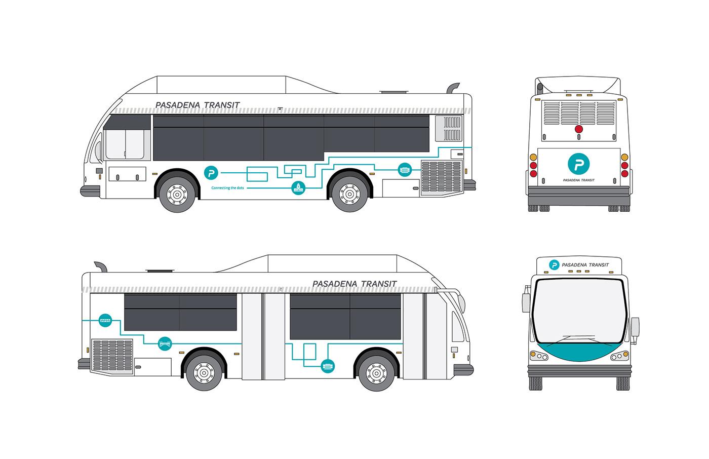 Pasadena Transit On Behance