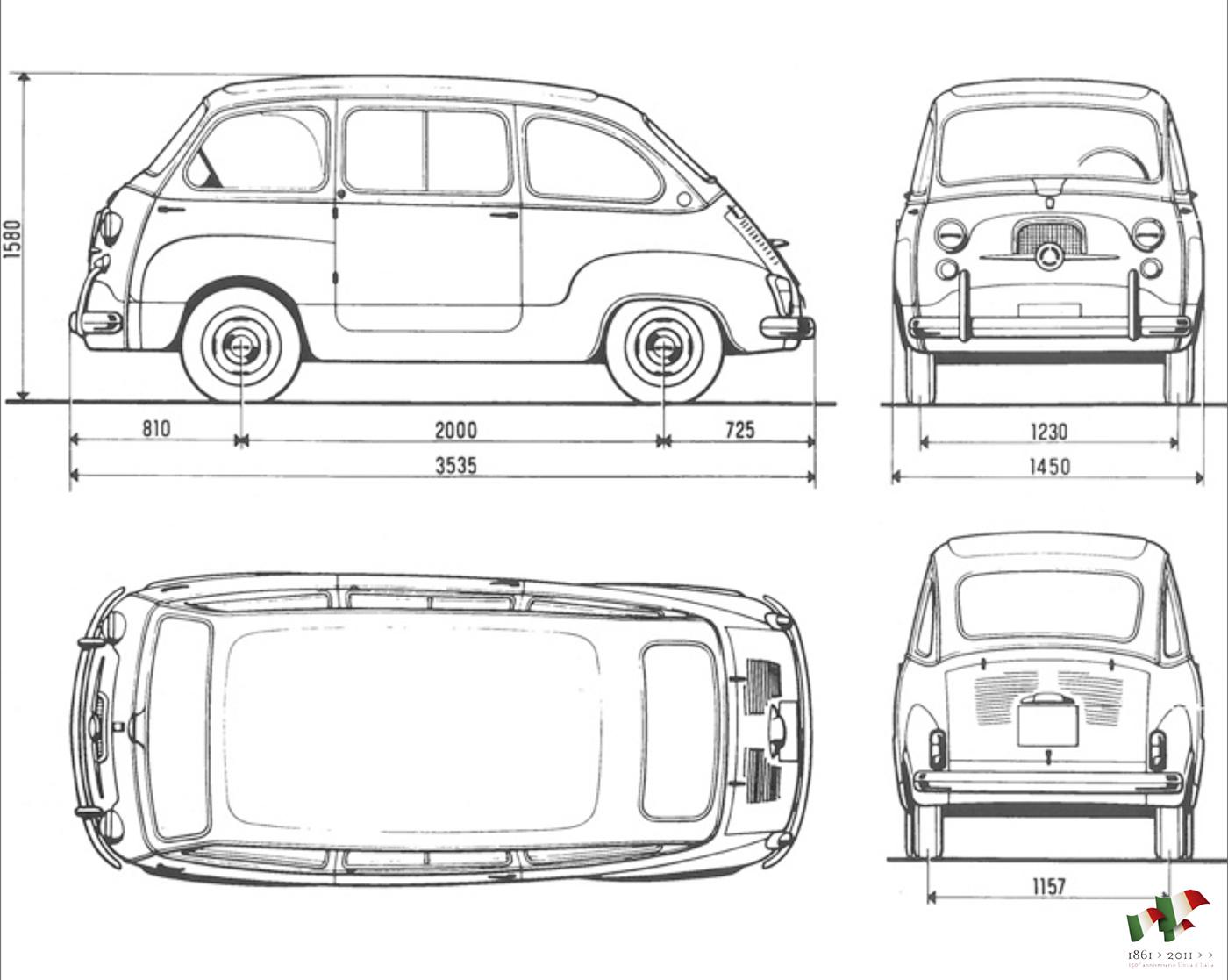 Fiat Multipla Vorto Redesign On Behance