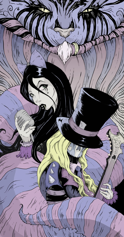 Gothic Alice Set Wonderland