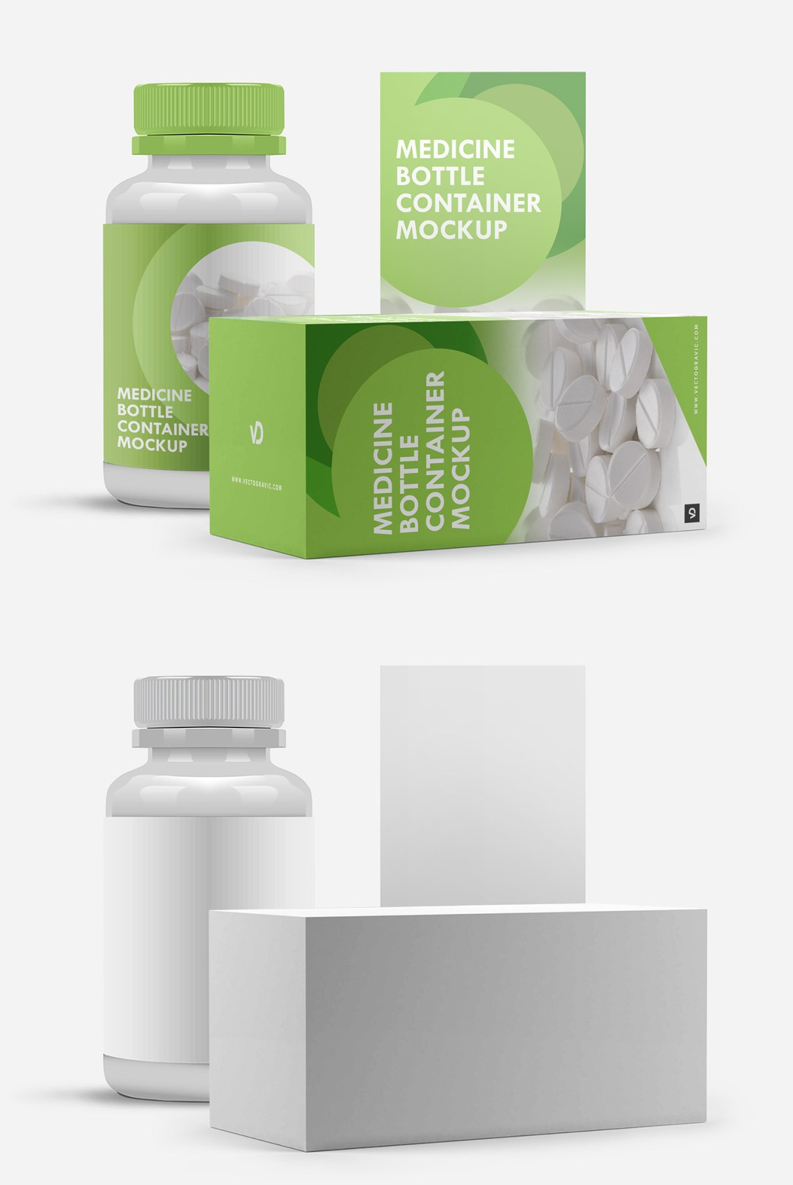 Download Free Medicine Bottle Container Mockup on Behance