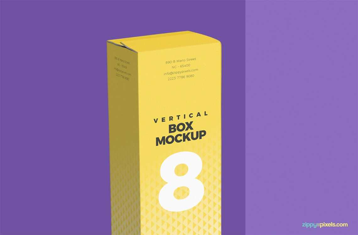 Download Free Multi-Purpose Vertical Box Mockup PSD on Behance