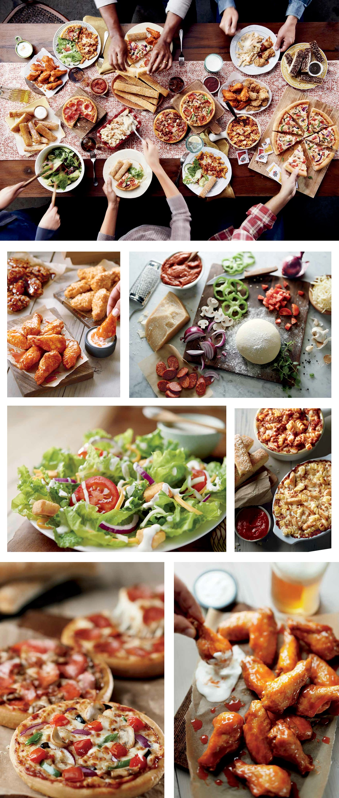 Effortlessly Real Pizza Hut Express Photography on Behance