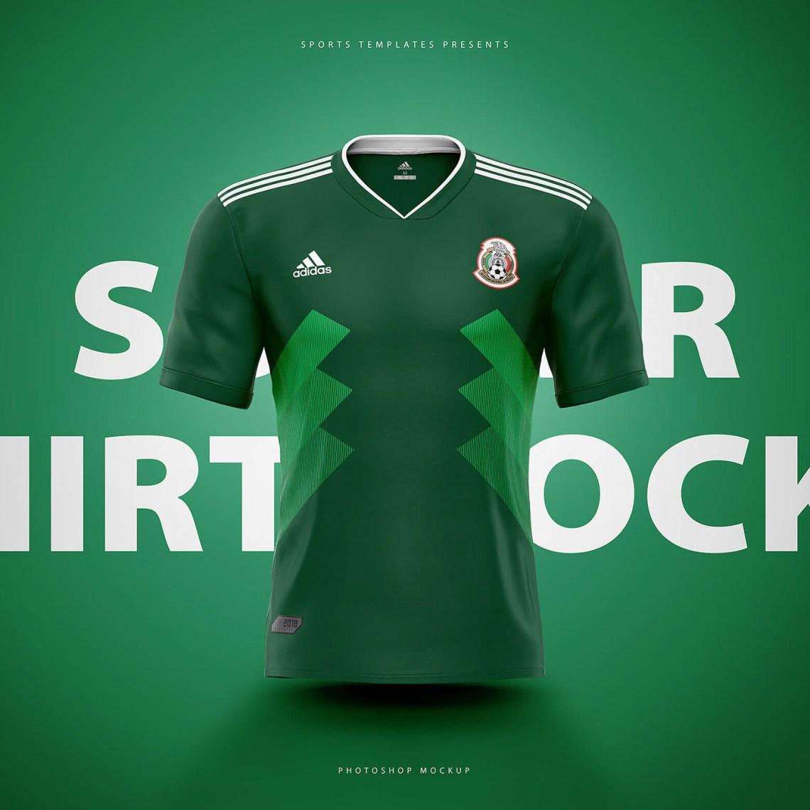 Download Adidas Football / Soccer shirt builder PSD template on Behance