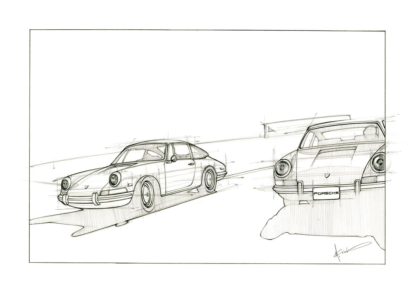 Porsche 912 On Behance