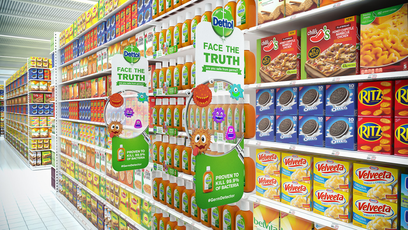Dettol Face The Truth Posm On Behance
