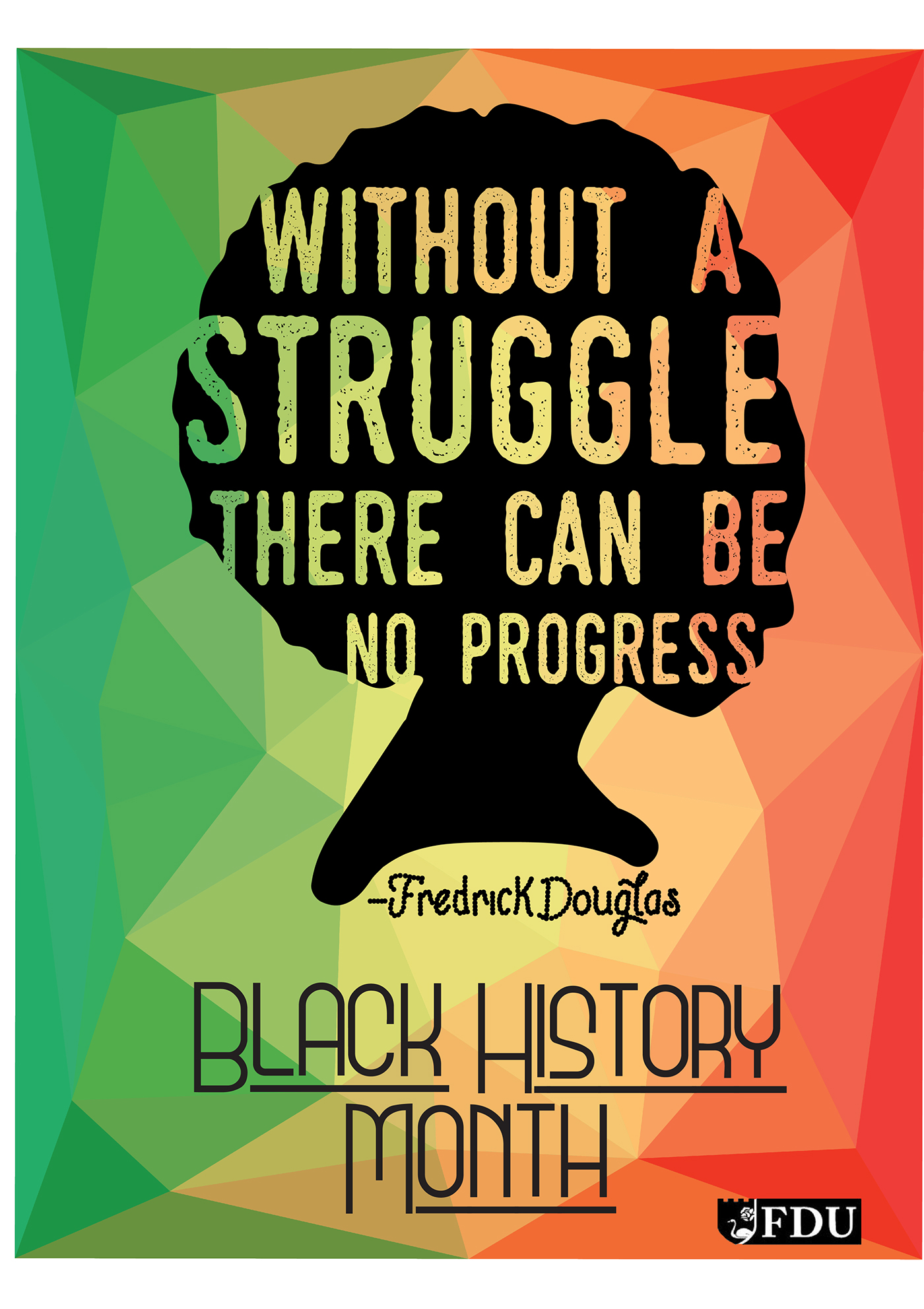 Black History Month Poster On Behance