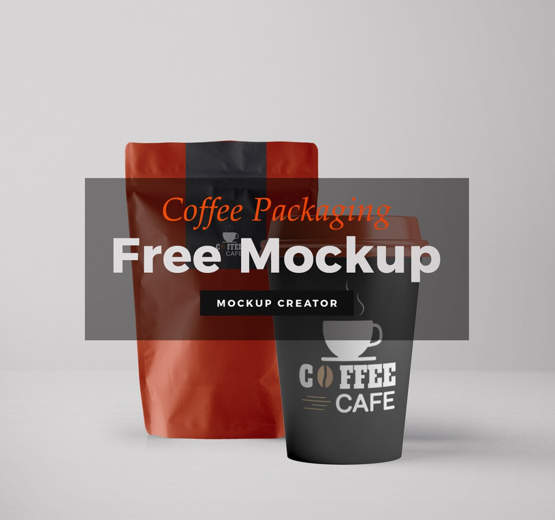 Download Free Mockup - Coffee Packaging on Behance